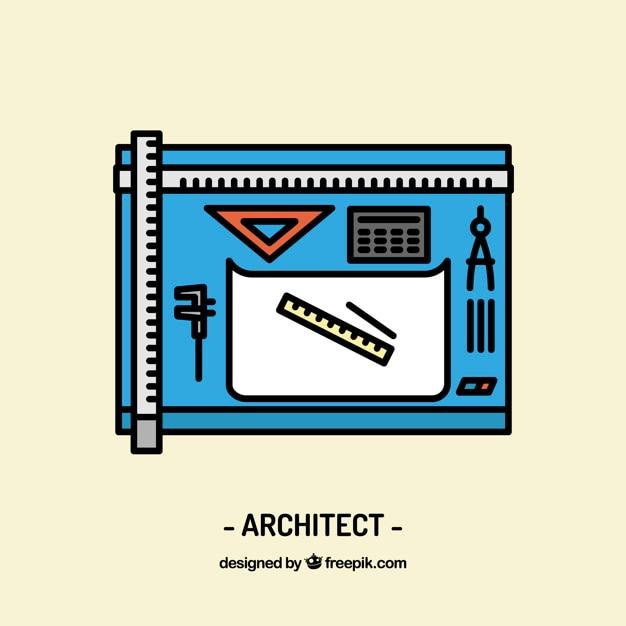 Architect workplace design