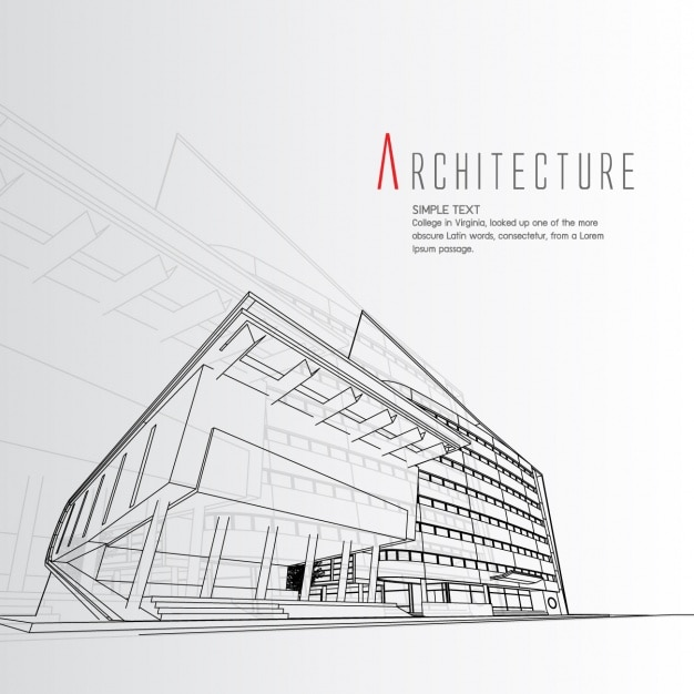 Architecture background design vector free download for Online architecture design tool