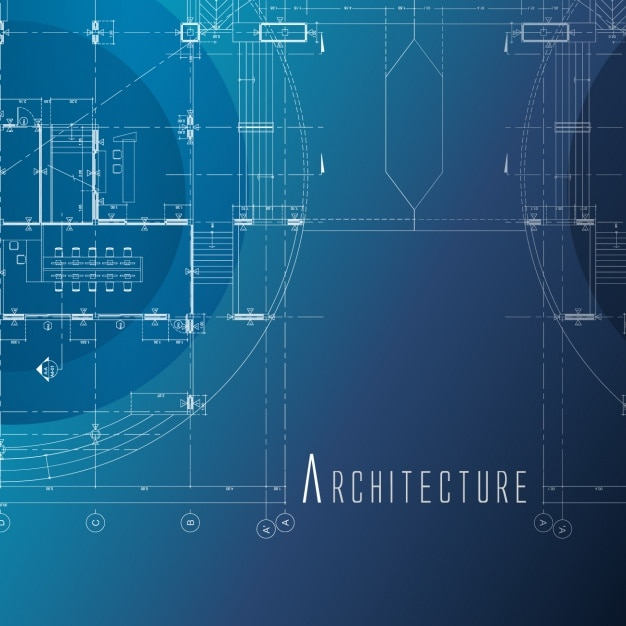 Blueprint paper vectors photos and psd files free download architecture background design malvernweather Images