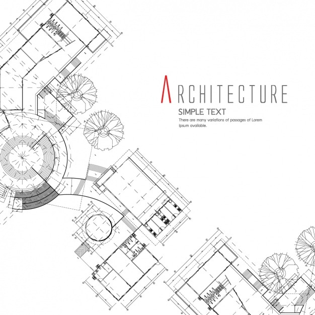 Architecture background design vector free download for Online architecture drawing