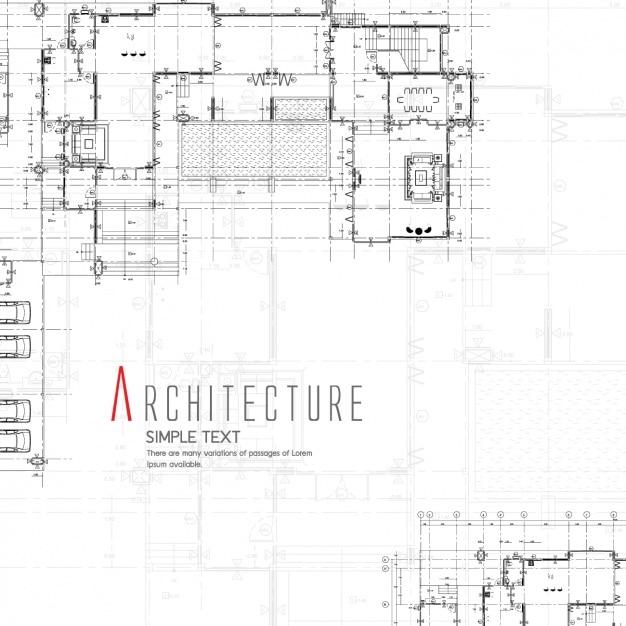 Architecture background design Free Vector