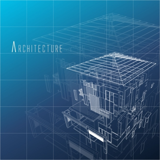 Architecture background design Free Vector