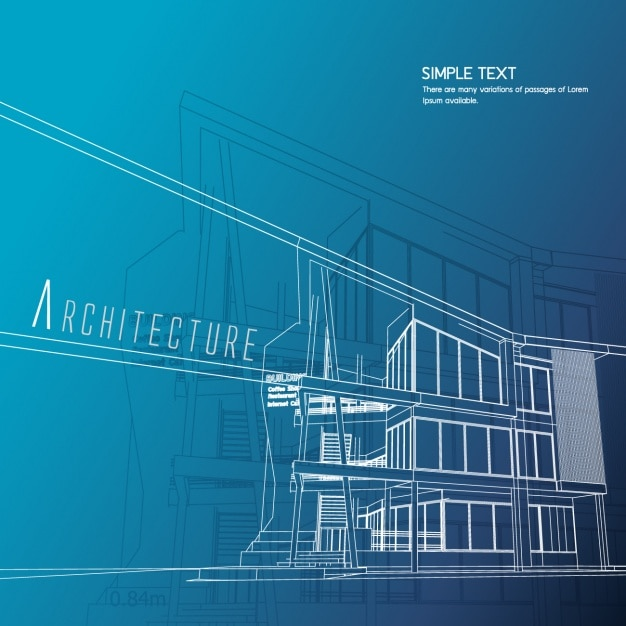 Architecture background design vector free download for Architecture wallpaper windows 7