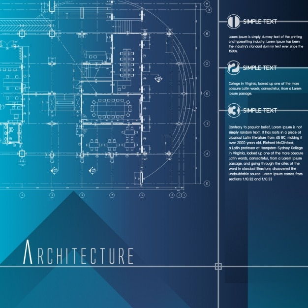 architecture infographic template vector