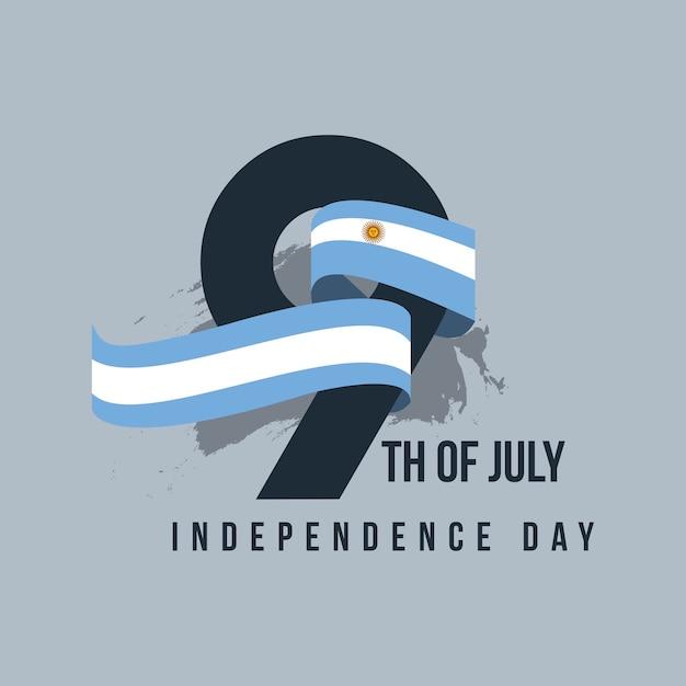 Argentina independent day Premium Vector