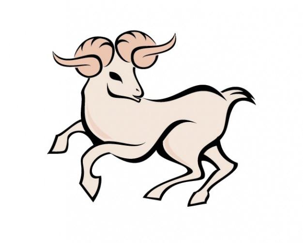 Aries Symbol Vector Free Download