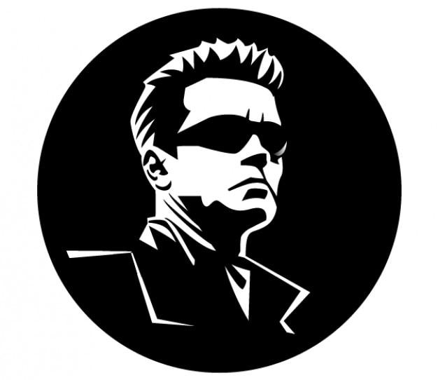 Arnold Schwarzenegger Vector Image