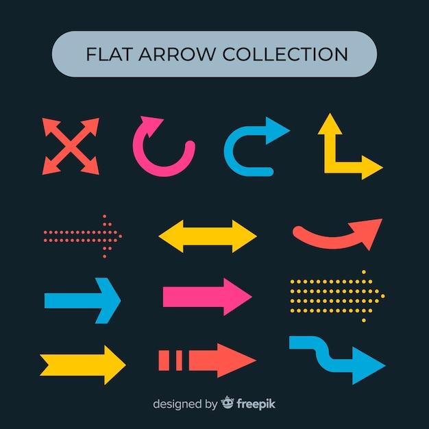Arrowコレクション 無料ベクター