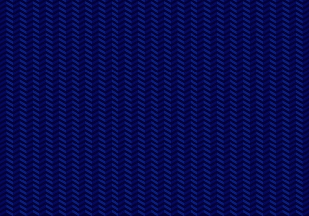 Arrows seamless pattern zig zag on blue background. Premium Vector
