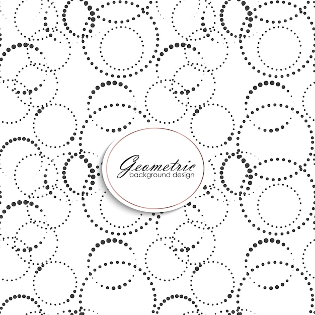 Art deco seamless pattern with gometric elements Free Vector