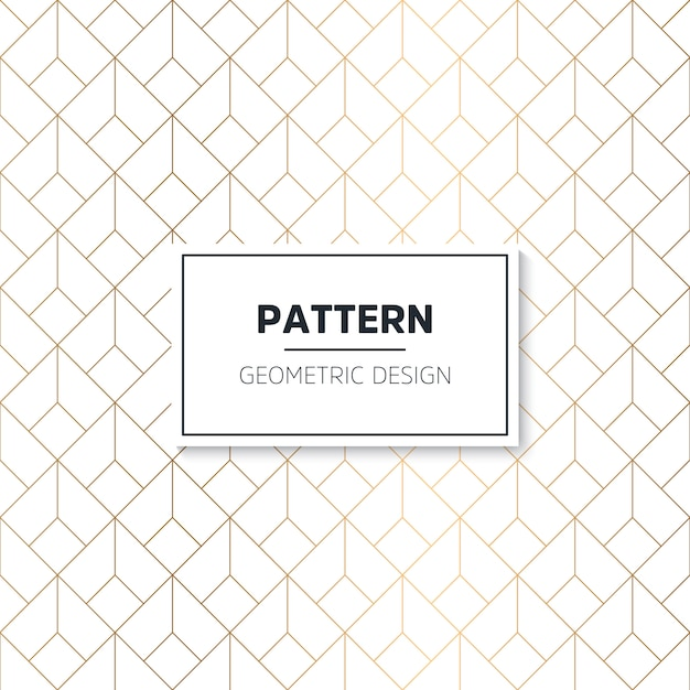Art Deco seamless pattern Free Vector