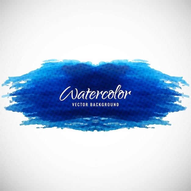Artistic background with watercolor texture, dark blue color