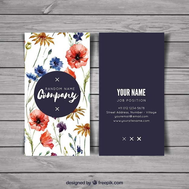 Artistic business card vector free download artistic business card free vector colourmoves