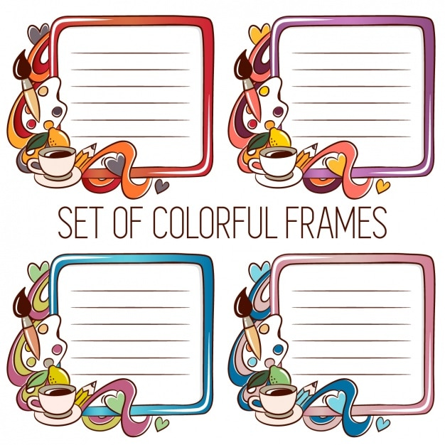 Artistic frames Vector | Free Download