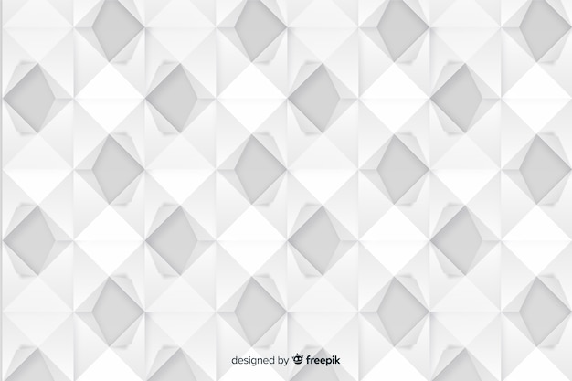 Artistic geometric paper style background Free Vector
