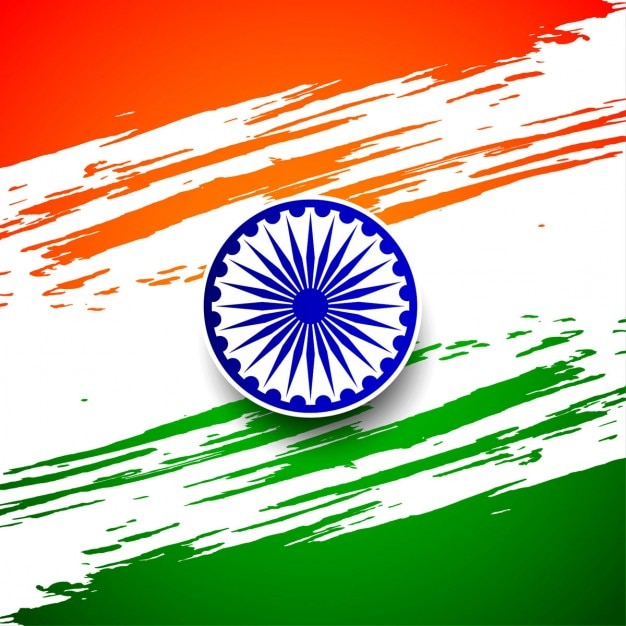 Artistic indian republic day background