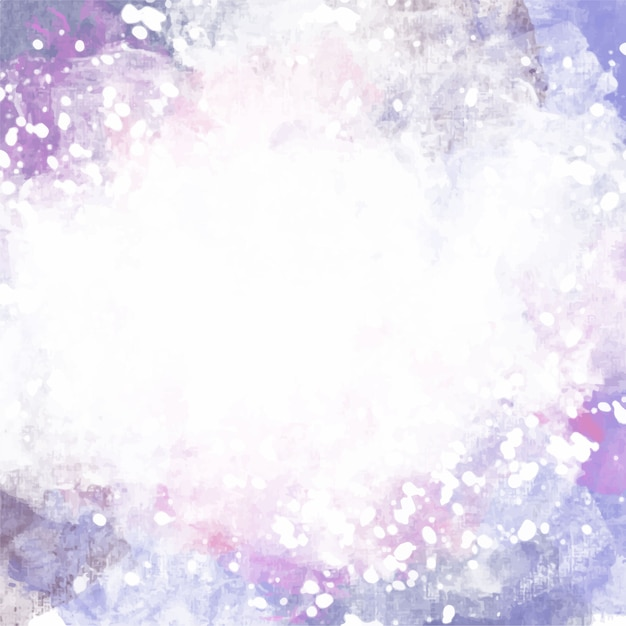 Artistic Purple Watercolor Background Vector Free Download