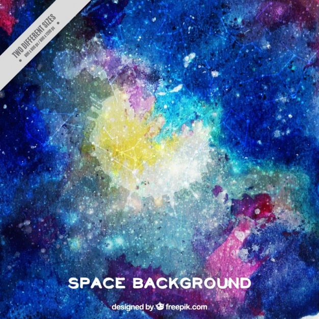 Artistic space background
