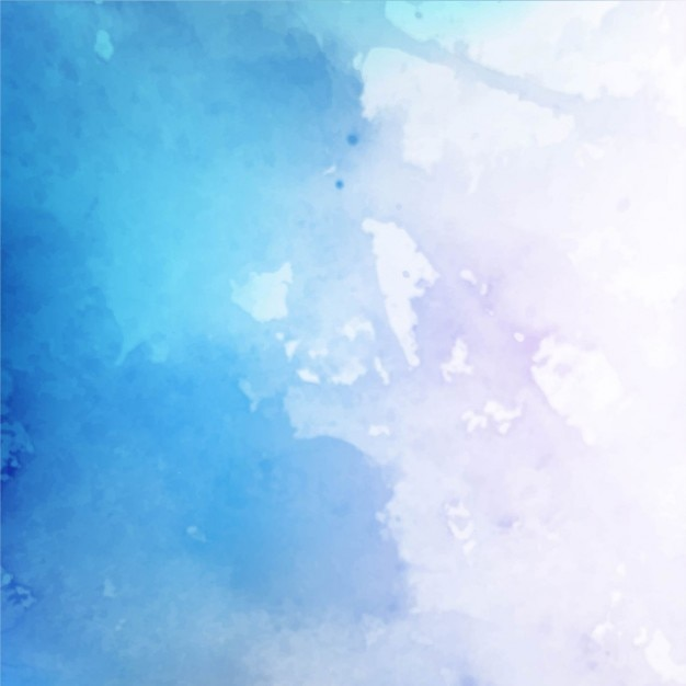 Artistic watercolor texture, intense blue color