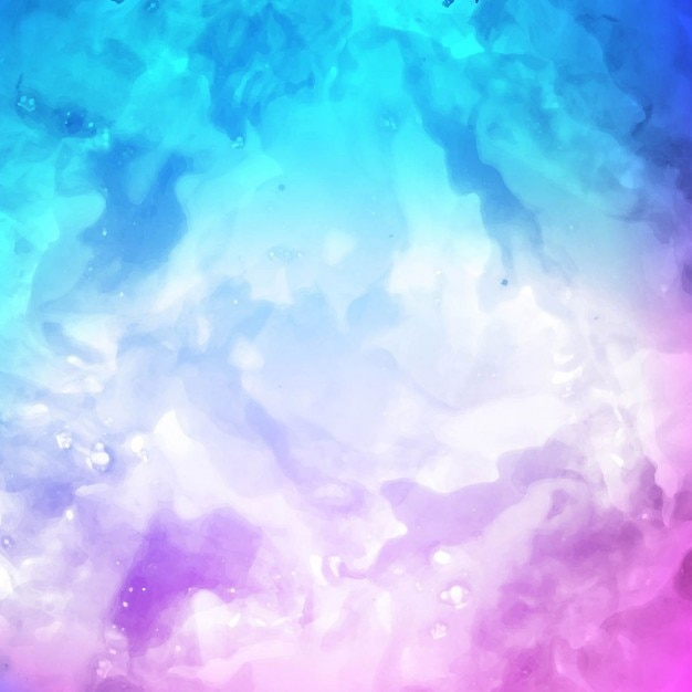 artistic watercolor texture purple and blue color vector free