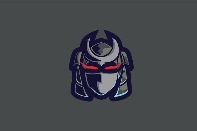Ash robo clip-art for esports mascot logo Premium Vector
