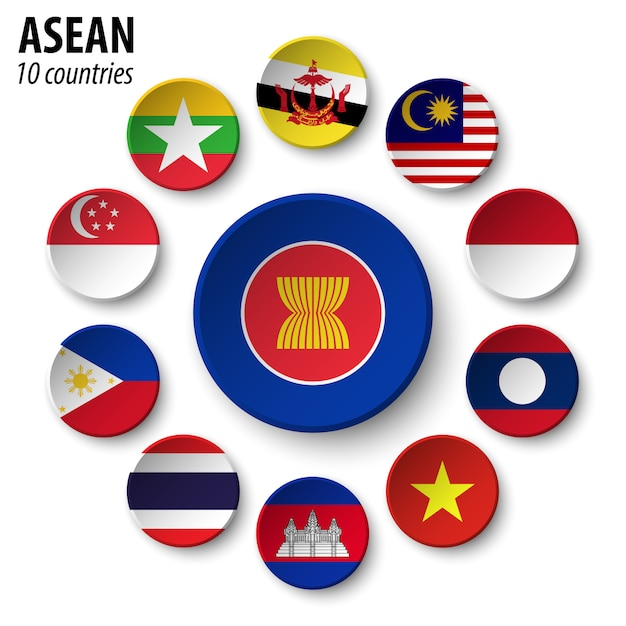 Asian and membership Premium Vector