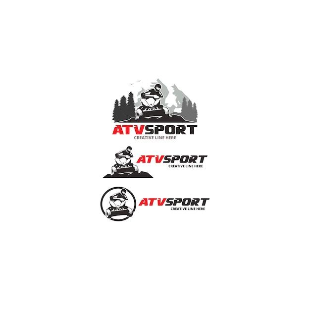 Atv sport Premium Vector