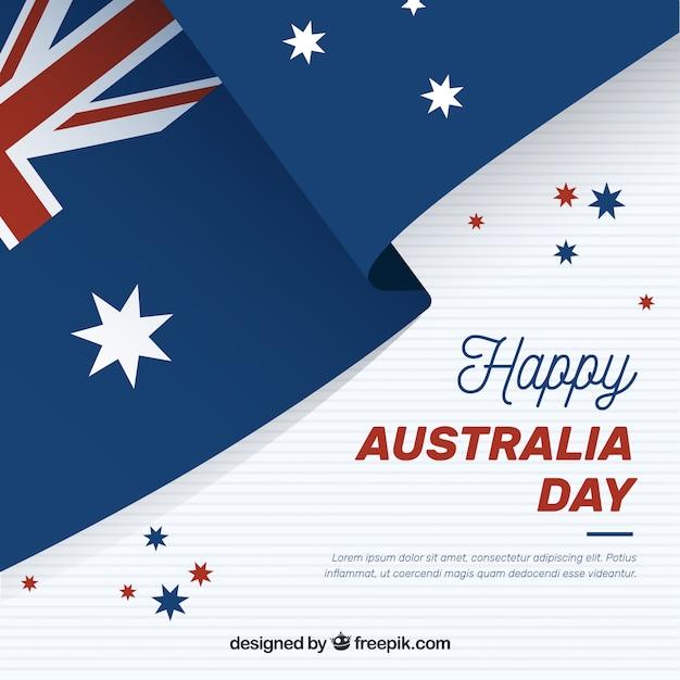 Giornata in australia Vettore gratuito