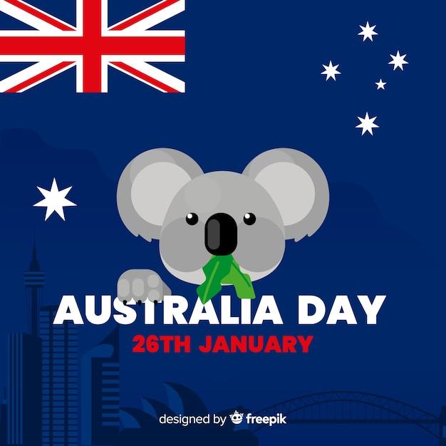 Australia day Free Vector