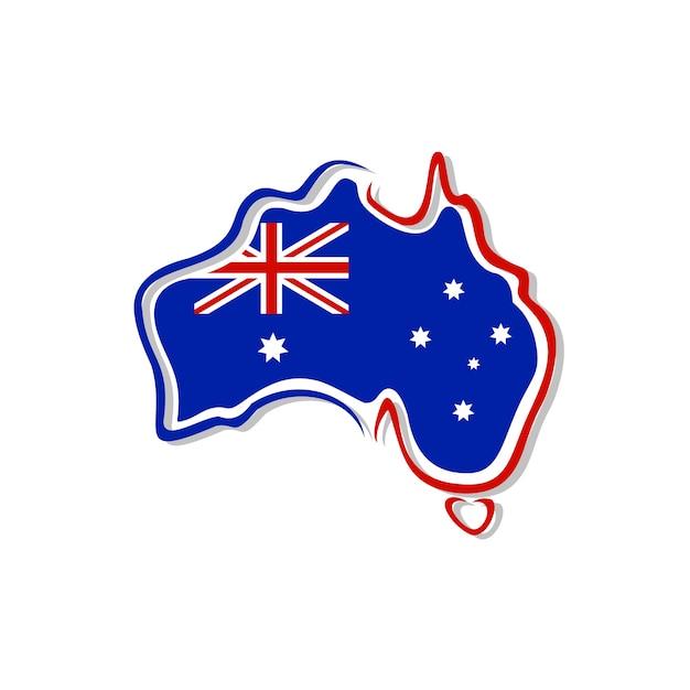 Map Of Australia Logo.Australia Map Logo Vector Vector Premium Download