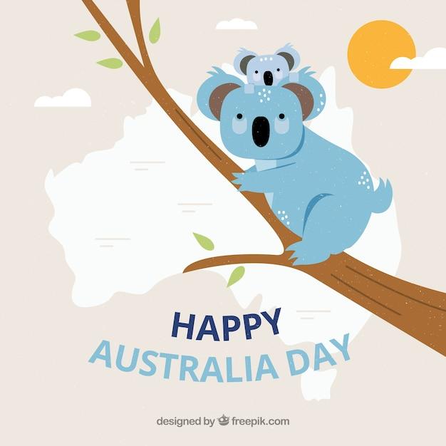 Australia republic day Premium Vector