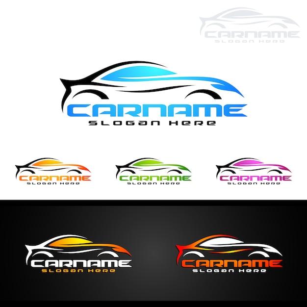 Auto Car Logo For Sport Cars Vector Premium Download