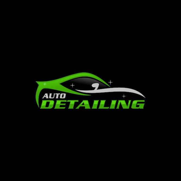 Auto Detailing Logo Template Vector Premium Download