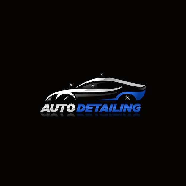 Auto Detailing Logo Vector Vector Premium Download