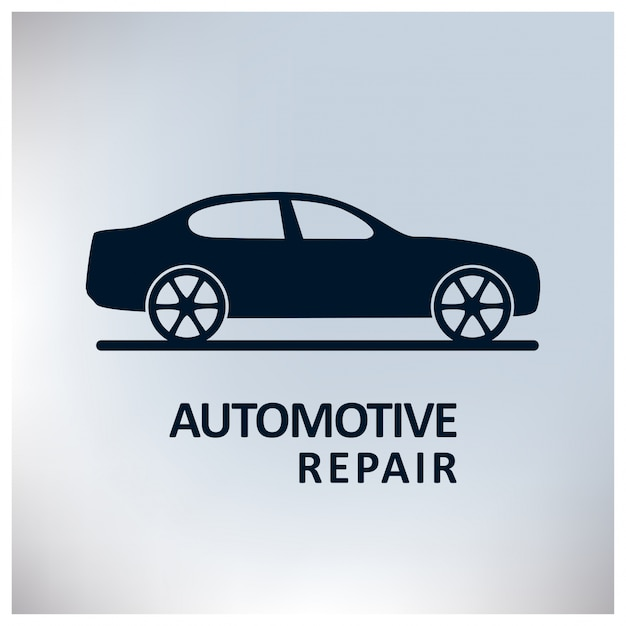automotive repair logo template vector free download