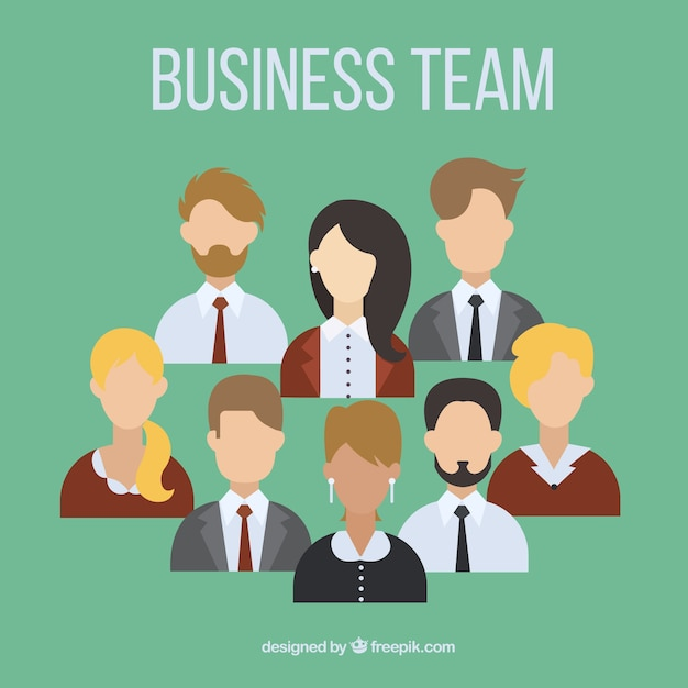 Avatars business team collection | Stock Images Page