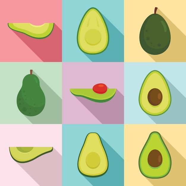 Avocado Pattern Wallpaper Vector Premium Download