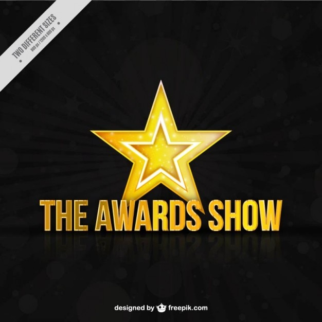 Awards show background Free Vector