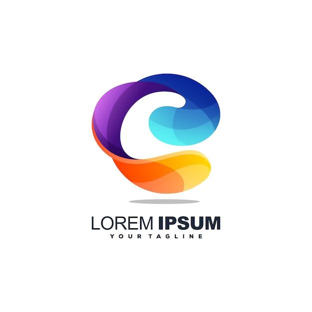 C Logo: Awesome Letter C Logo Vector