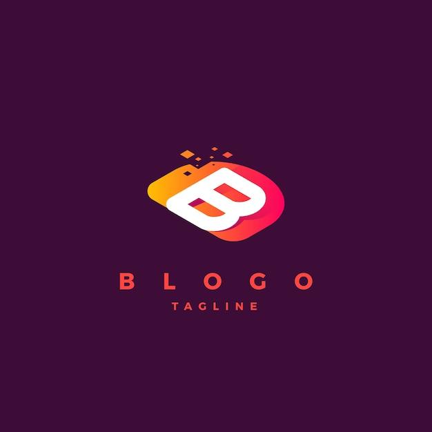 B logo Premium Vector