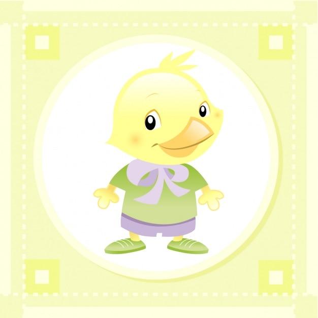 Baby chicken design