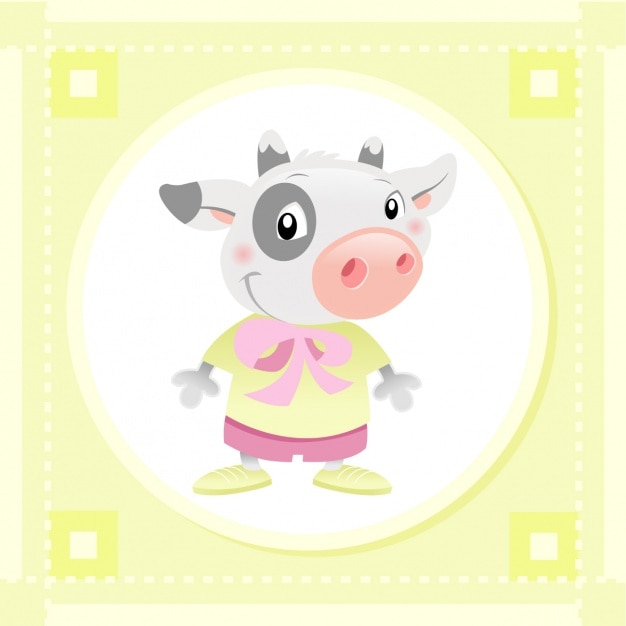 Baby cow design
