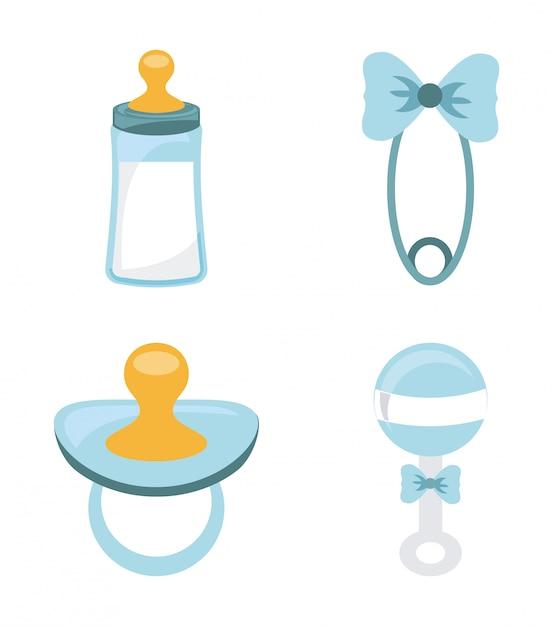 Baby design over white background vector illustration Premium Vector
