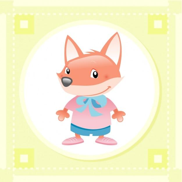 Baby fox design