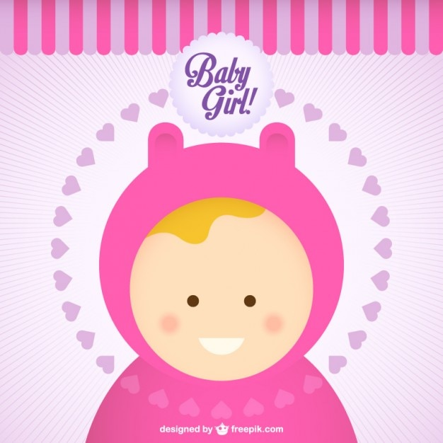 Cartoon Baby Images Free Download Baby Girl Cartoon Free Vector