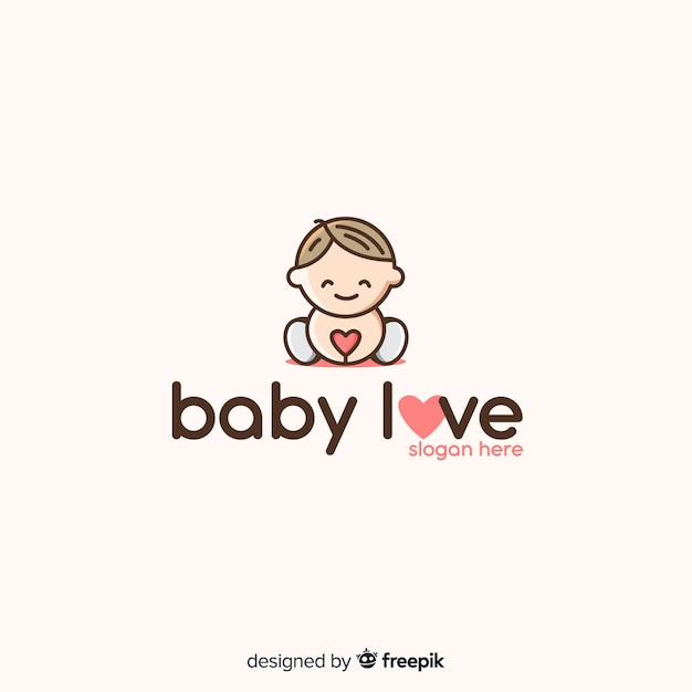 Baby logo vector free download for Beb logo