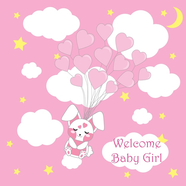 Baby Shower Background Design Vector Free Download