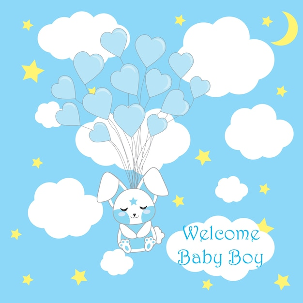Free Vector Baby Shower Background Design