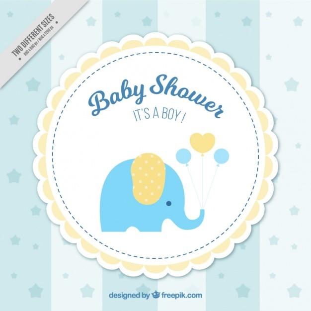 baby shower background vector free download