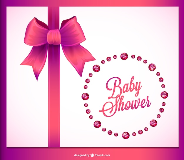 Baby shower invitation crystals design vector free download baby shower invitation crystals design free vector filmwisefo